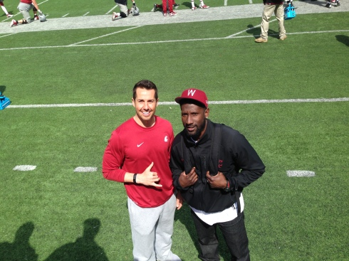 Rose Bowl quarterback + All-Pro cornerback = Cougar greatness!